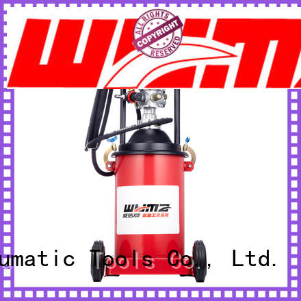 WYMA good quality air powered grease pumps supplier for machine tools