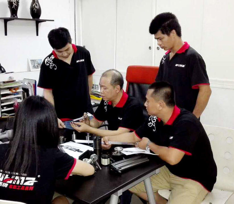 WM Technical team in office