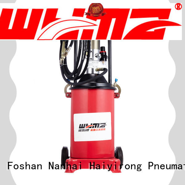 WYMA machine pneumatic grease promotion for automobiles