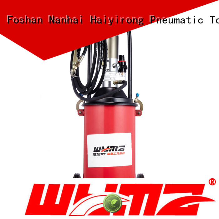 WYMA Pneumatic grease pump promotion for ships