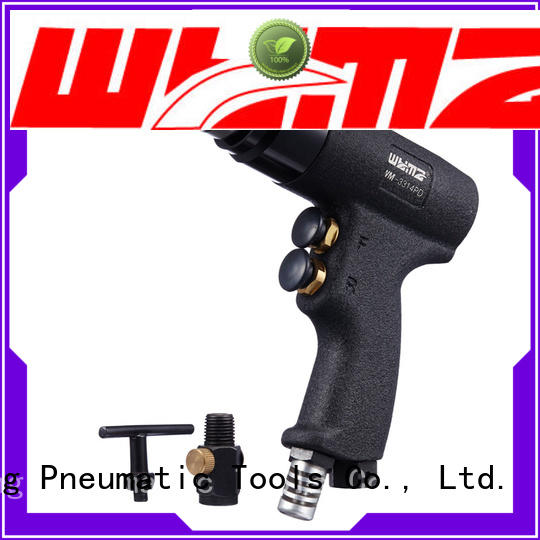 WYMA gun pneumatic drill machine at discount for brake cylinder hole