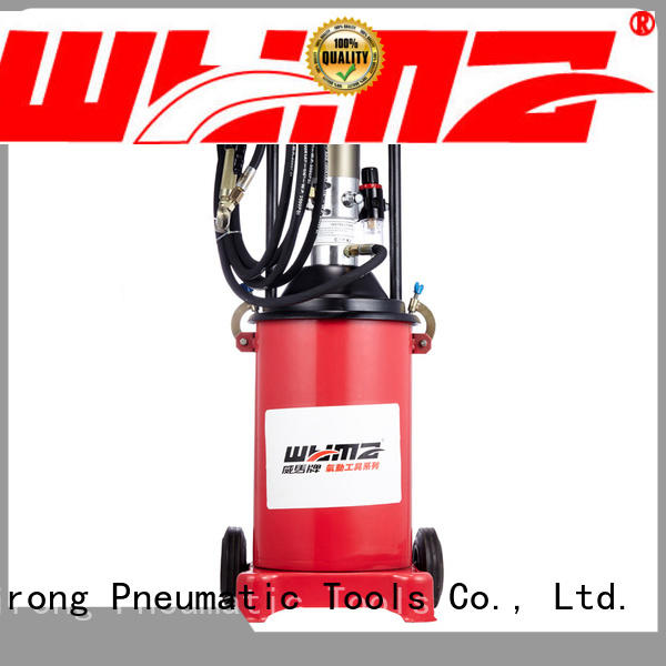 WYMA butter air powered grease pumps supplier for machine tools