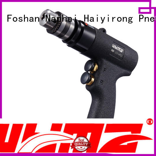 WYMA precise pneumatic drill at discount for brake cylinder hole