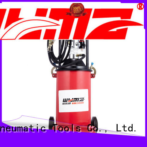 precise air powered grease pumps machine supplier for machine tools