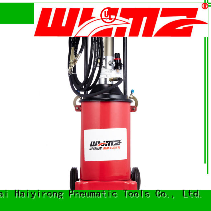WYMA precise air grease pump factory price for ships