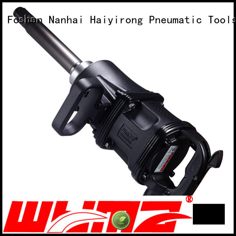 WYMA lifetime pnematic impact wrench promotion for machinery industries