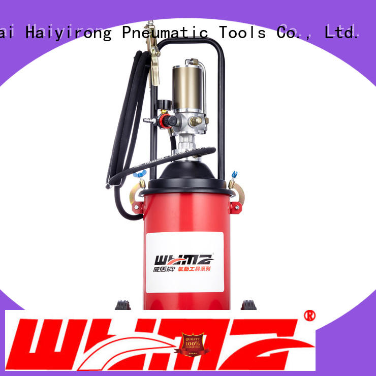 WYMA safe air powered grease pumps at discount for equipment