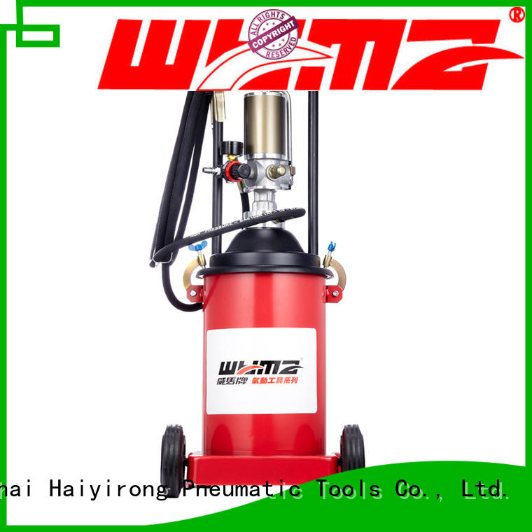 WYMA machine air powered grease pumps supplier for automobiles