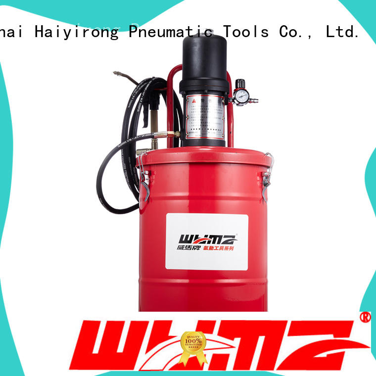 WYMA butter pneumatic grease promotion for ships