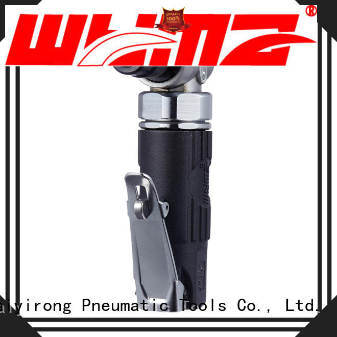 WYMA long pneumatic hand grinder at discount for grinding