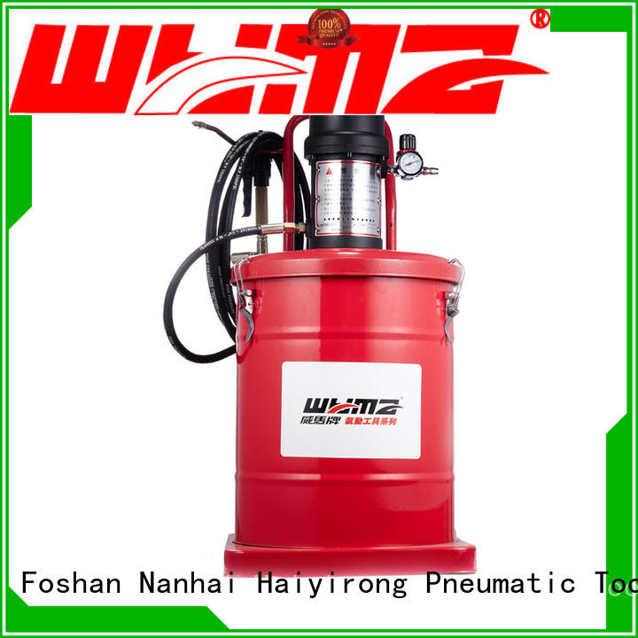 WYMA safe pneumatic grease supplier for machine tools