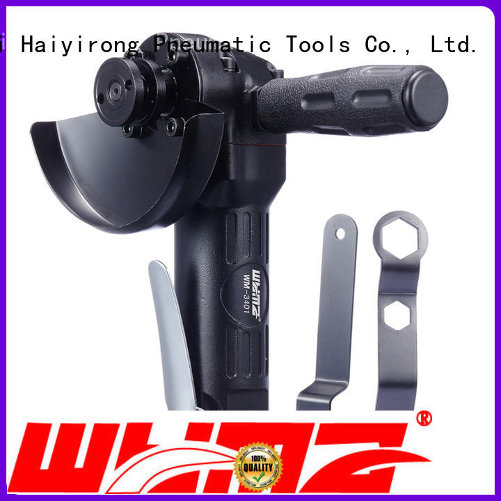 professional pneumatic angle grinder angular low vibration for industrial furniture spraying