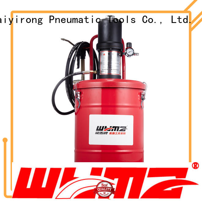 WYMA butter air powered grease pumps supplier for equipment