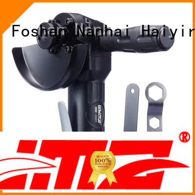 WYMA grinder air powered angle grinder at discount for industrial furniture spraying