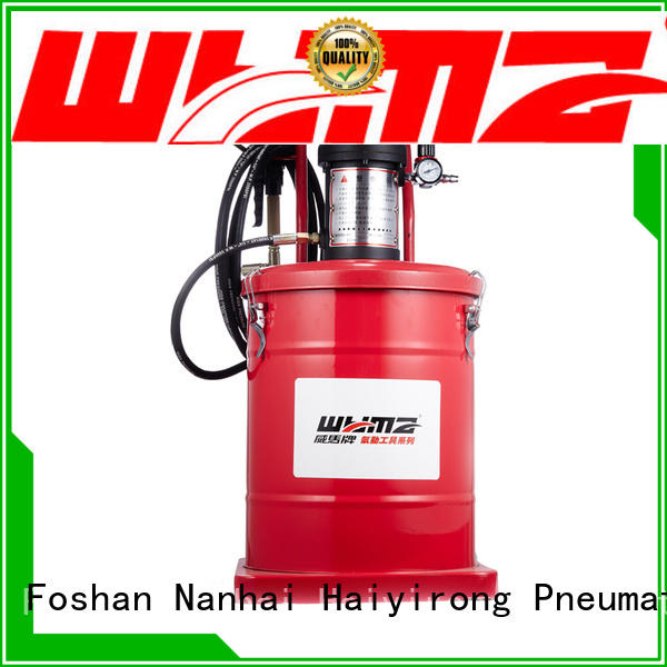 WYMA technical air grease pump at discount for ships