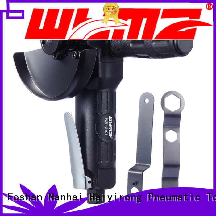 adjustable air powered angle grinder angle low noise for industrial furniture spraying