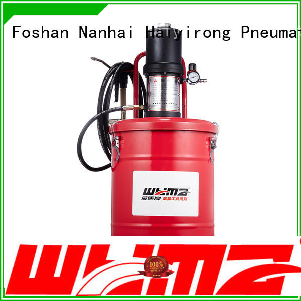 WYMA good quality air powered grease pumps at discount for ships