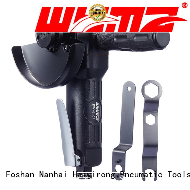 WYMA angular air powered angle grinder low vibration for automobile spraying