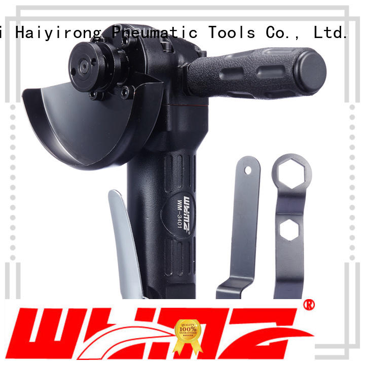 WYMA professional pneumatic angle grinder direcly sale for woodworking