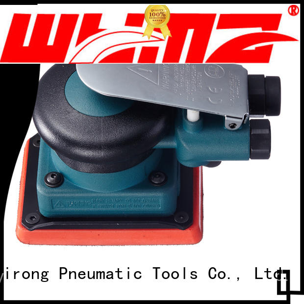 good quality palm sander air tools 5inch wholesale for rust removal