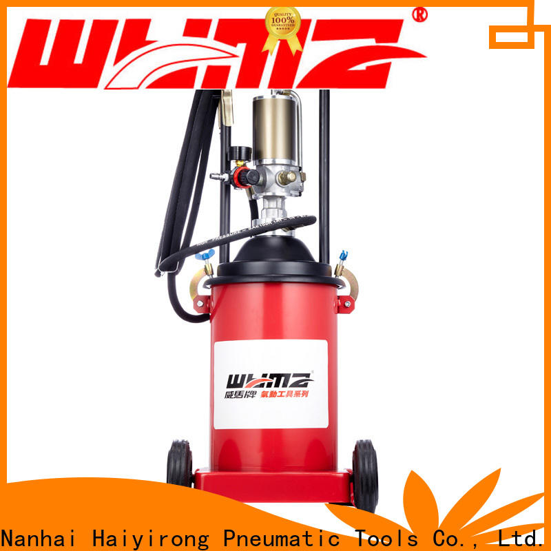 WYMA Pneumatic grease pump promotion for equipment
