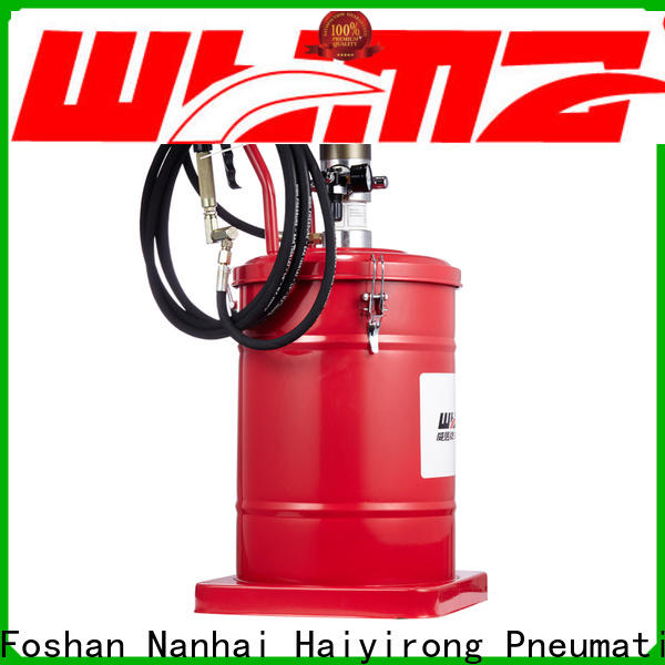 WYMA precise air grease pump promotion for ships