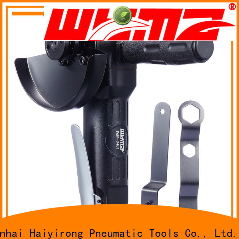 WYMA Best air powered angle grinder for industrial furniture spraying